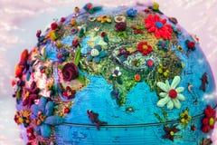 Flowered india Royalty Free Stock Photo