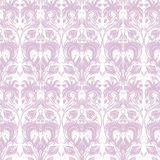 Flowered pattern. Vector  illustration - decorative ornamental flowered tileable pattern Royalty Free Stock Image