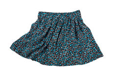 Flowered skirt Royalty Free Stock Images