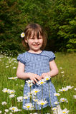 Flowergirl Fotografia de Stock