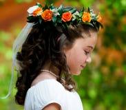 Flowergirl Stock Foto