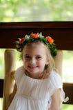 Flowergirl Fotografía de archivo libre de regalías
