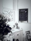 flowergirl fotografia stock