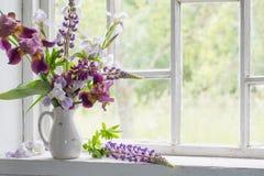 Flowerin vase Royalty Free Stock Photo