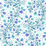 Flowering bluebells Royalty Free Stock Photos