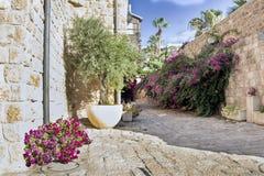 Sights of the ancient city of Jaffa, Israel. Royalty Free Stock Photos