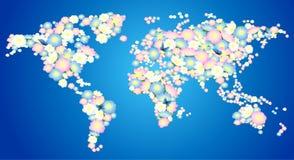 Flowering earth Stock Image