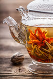 Flowering tea Royalty Free Stock Photo