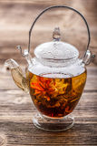 Flowering tea Royalty Free Stock Images
