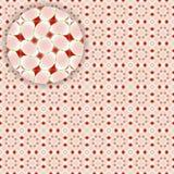 Flowerish nahtloses Muster mit Sonderkommando stock abbildung