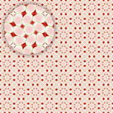 Flowerish seamless pattern with detail Royalty Free Stock Images