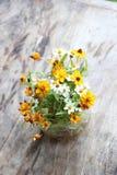 Flowerpot εκλεκτής ποιότητας υπόβαθρο Στοκ φωτογραφία με δικαίωμα ελεύθερης χρήσης