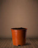Flowerpot with copy space Royalty Free Stock Photos