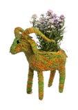 Flowerpot initial Images stock