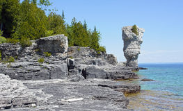 Flowerpot Island Royalty Free Stock Photo
