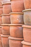 Flowerpot. The flowerpot made from baked clay in sunday market Royalty Free Stock Image