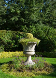 Flowerpot in Regents Park in London Stock Image
