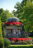 Flowerpot in Regents Park in London Royalty Free Stock Images