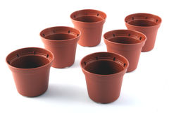Flowerpots Royalty Free Stock Photos