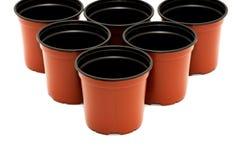 Flowerpots Royalty Free Stock Photo
