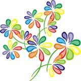 Flowerrs Colourful Fotografie Stock