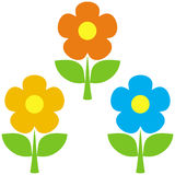 Flowers – vector illustration Stock Photo