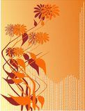 Flowers. This is a Illustration of abstract flowers royalty free illustration