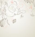 Flowers. Fantasy. Cute background  for your text Royalty Free Stock Photos