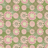 Flowers. Vector seamless background with flowers Stock Image