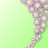 Flowers3 Ilustração do Vetor