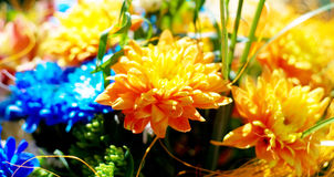 Flowers. Beautiful bouquet of colorful flowers Royalty Free Stock Photo