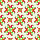 Flowers abstract seamless vector background pattern Stock Photos