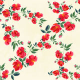 Flowers. Abstract wallpaper with floral motifs.  Seamless patter. N. Wallpaper. Use printed materials, signs, posters, postcards, packaging Stock Image