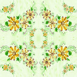 Flowers. Abstract wallpaper with floral motifs. Seamless pattern. Wallpaper. Use printed materials, signs, posters, postcards, packaging vector illustration