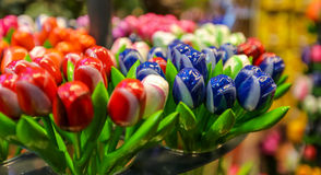 Flowers in Amsterdam. Royalty Free Stock Photo