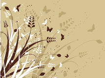 Free Flowers And Butterflies Royalty Free Stock Photography - 873767