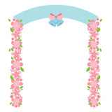 Flowers Arch Royalty Free Stock Photo