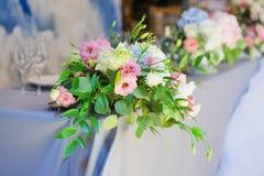 Flowers arrangement bouquet Stock Photo