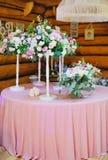 Flowers arrangement bouquet Stock Photography