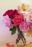 Flowers art closeup. Wedding holiday card Royalty Free Stock Photos