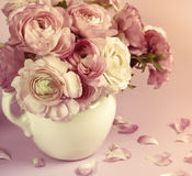 Flowers art design. Wedding holiday card Stock Image