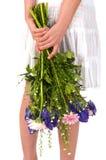 Flowers as a surprise Stock Photos