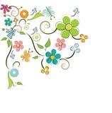 Flowers background Stock Photo