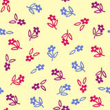Flowers background. Background made of different color flowers Stock Images