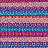 Flowers background. A nicely colorful background of repeated flowers Royalty Free Stock Image