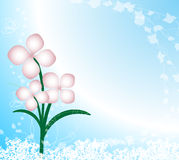 Flowers background Royalty Free Stock Photography