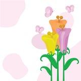 Flowers background 4 Stock Photos