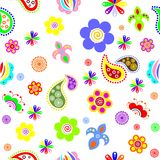 Flowers_background Stock Photography