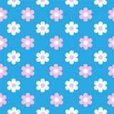 Flowers background. Seamless Royalty Free Stock Photography