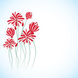 Flowers background vector Stock Images